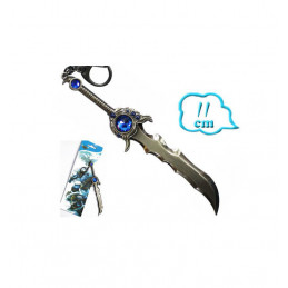 LEAGUE OF LEGENDS SWORD KEYRING 1 - PIETRA BLU