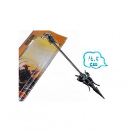 LEAGUE OF LEGENDS SWORD KEYRING 3 - PIETRA VERDE