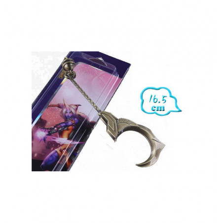 LEAGUE OF LEGENDS SWORD KEYRING 5 - MEZZALUNA