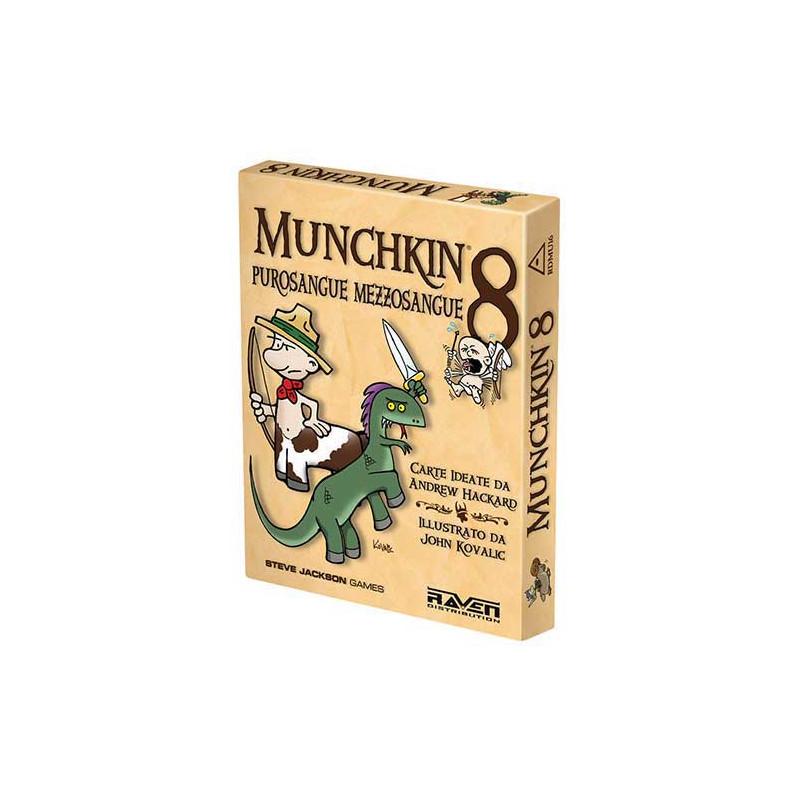 MUNCHKIN 8 PUROSANGUE MEZZOSANGUE