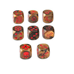 NECROMUNDA: GOLIATH GANG DICE SET