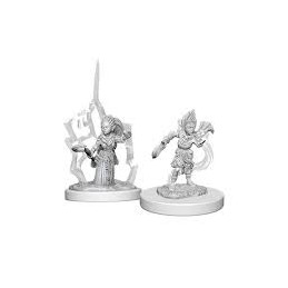 PATHFINDER DEEP CUTS MINIATURES - DRUIDO GNOMO FEMMINA