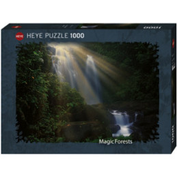 PUZZLE 1000 PZ. MAGIC FORESTS - WATERFALL