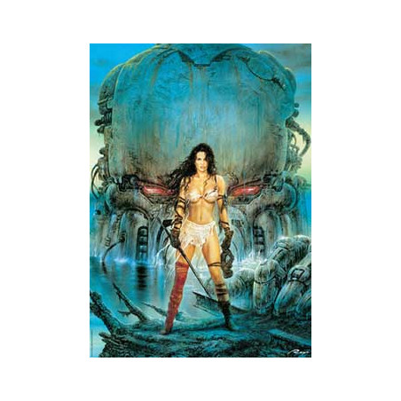 PUZZLE 1000 PZ. ROYO - FANTASIES - RED EYES
