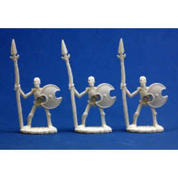SKELETAL SPEARMEN (3) (BONES)