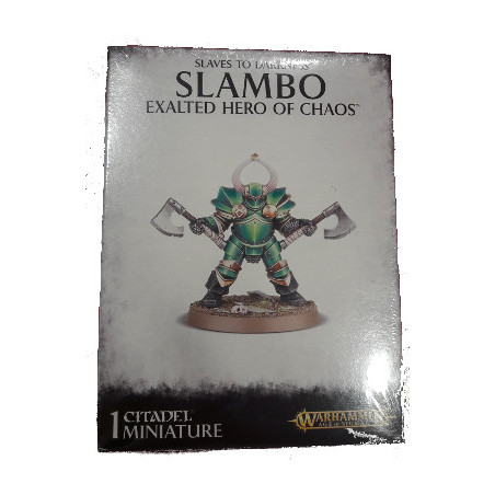 SLAVES TO DARKNESS SLAMBO: EXALTED HERO