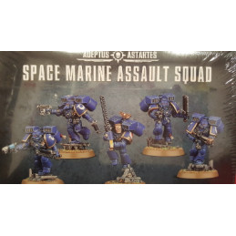 SPACE MARINE ASSAULT SQUAD - SQUADRA ASSALTATRICE DEGLI SPACE MARINE