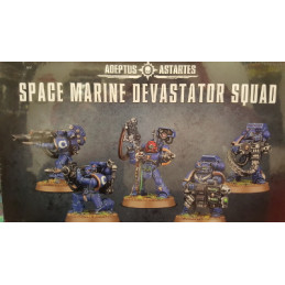 SPACE MARINE DEVASTATOR SQUAD - SPACE MARINE DEVASTATORI