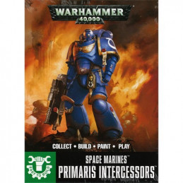 SPACE MARINE PRIMARIS INTERCESSORS - EASY TO BUILD