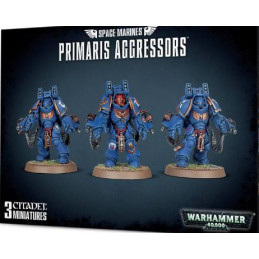 SPACE MARINES PRIMARIS - AGGRESSORS