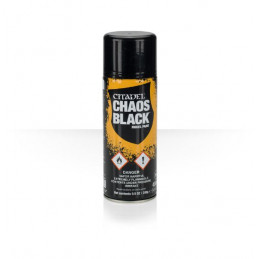 SPRAY CHAOS BLACK