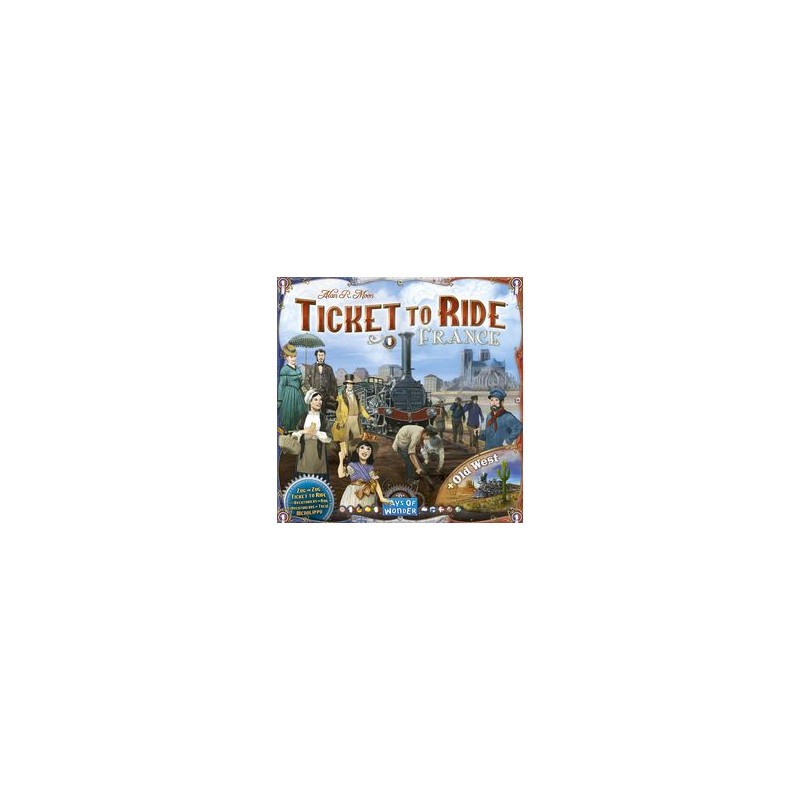 TICKET TO RIDE: FRANCIA