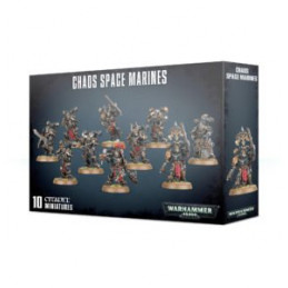 CHAOS SPACE MARINES - SPACE MARINE DEL CAOS