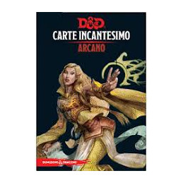 D&D 5 - CARTE INCANTESIMO: ARCANO