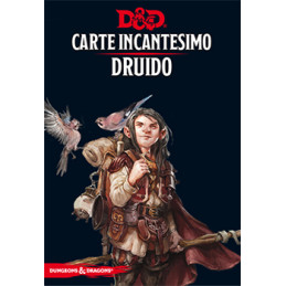 D&D 5 - CARTE INCANTESIMO: DRUIDO