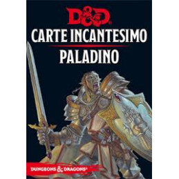 D&D 5 - CARTE INCANTESIMO: PALADINO