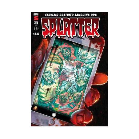 SPLATTER NUM. 6 - NOVEMBRE 2014