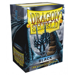 DRAGON SHIELD PROTEGGI CARTE STANDARD - BLACK (100)