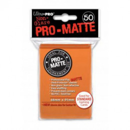 PROTEGGI CARTE STANDARD MATTE ORANGE (50)