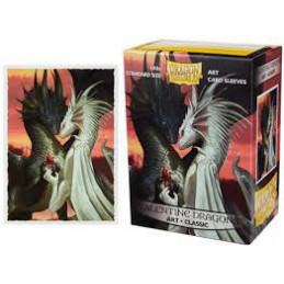 DRAGON SHIELD PROTEGGI CARTE STANDARD - ART VALENTINE DRAGONS (100)