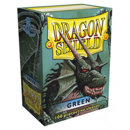DRAGON SHIELD PROTEGGI CARTE STANDARD - GREEN (100)