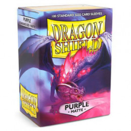 DRAGON SHIELD PROTEGGI CARTE STANDARD - MATTE PURPLE (100)