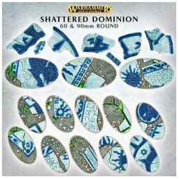 AOS: SHATTERED DOMINION: 60&90MM OVAL (BASETTE)