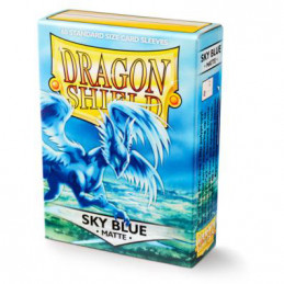 DRAGON SHIELD PROTEGGI CARTE STANDARD - MATTE SKY BLUE (60)