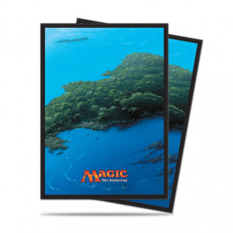 PROTEGGI CARTE STANDARD MAGIC - MANA ISLAND (80)