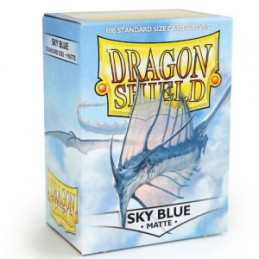 DRAGON SHIELD PROTEGGI CARTE STANDARD - MATTE SKY BLUE (100)