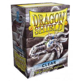 DRAGON SHIELD PROTEGGI CARTE STANDARD - CLEAR (100)