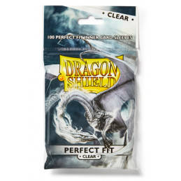 DRAGON SHIELD PERFECT SIZE STANDARD - CLEAR (100)