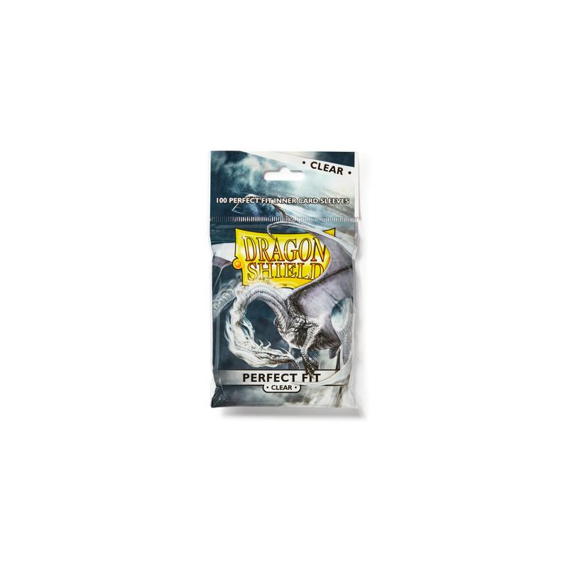 DRAGON SHIELD PERFECT SIZE STANDARD - CLEAR (100)