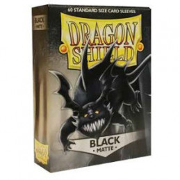 DRAGON SHIELD PROTEGGI CARTE STANDARD - MATTE BLACK (60)