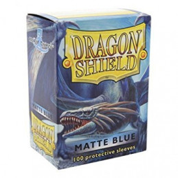 DRAGON SHIELD PROTEGGI CARTE STANDARD - MATTE BLUE (100)