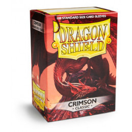 DRAGON SHIELD PROTEGGI CARTE STANDARD - MATTE CRIMSON (100)