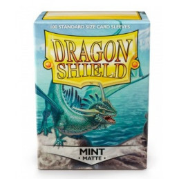 DRAGON SHIELD PROTEGGI CARTE STANDARD - MATTE MINT (100)