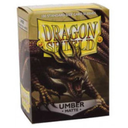 DRAGON SHIELD PROTEGGI CARTE STANDARD - MATTE UMBER (100)