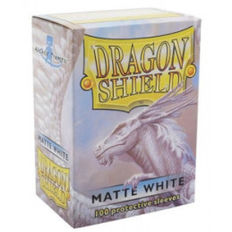 DRAGON SHIELD PROTEGGI CARTE STANDARD - MATTE WHITE (100)