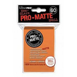 PROTEGGI CARTE MINI PRO MATTE ORANGE (60)