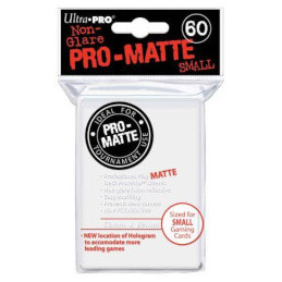 PROTEGGI CARTE MINI WHITE (60)