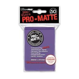 PROTEGGI CARTE STANDARD MATTE PURPLE (50)