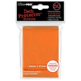 PROTEGGI CARTE STANDARD SOLID ORANGE (50)