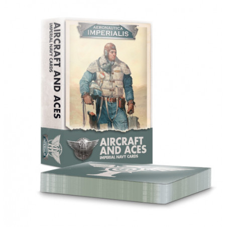 AERONAUTICA IMPERIALIS: AIRCRAFT & ACES - IMPERIAL NAVY CARDS