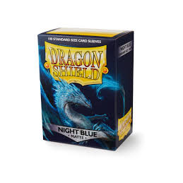 DRAGON SHIELD PROTEGGI CARTE STANDARD - MATTE NIGHT BLUE (100)