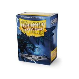 DRAGON SHIELD PROTEGGI CARTE STANDARD - NIGHT BLUE (100)