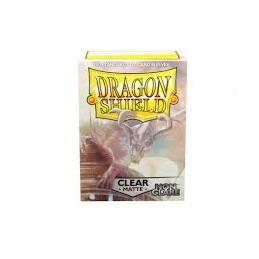 DRAGON SHIELD PROTEGGI CARTE STANDARD - NON GLARE - MATTE CLEAR (100)