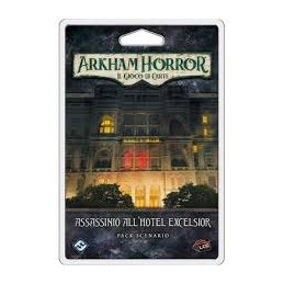 ARKHAM HORROR - IL GIOCO DI CARTE: ASSASSINIO ALL\'HOTEL EXCELSIOR