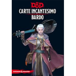 D&D 5 - CARTE INCANTESIMO: BARDO
