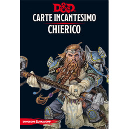 D&D 5 - CARTE INCANTESIMO: CHIERICO